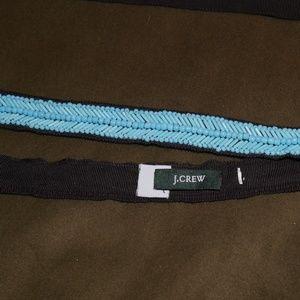 J. Crew Turquoise Beaded Belt